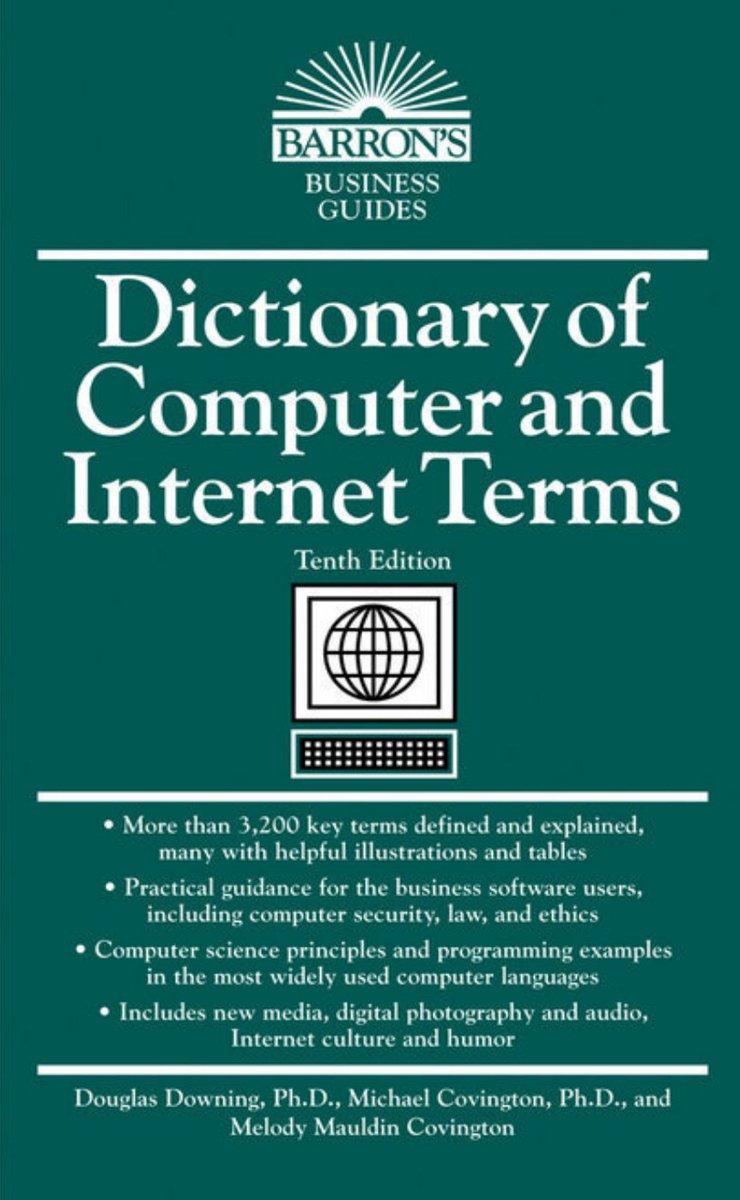 كتاب متميز يعتبر معجم شامل للمصطلحات التقنية ومعانيها