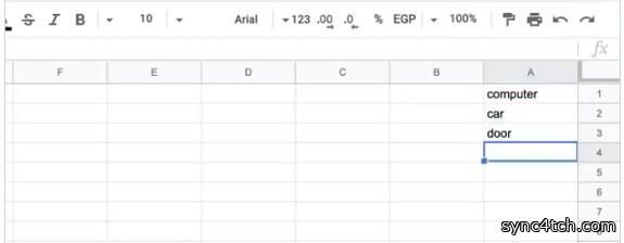 جداول بيانات Google خاصية مفيدة، وهي ترجمة أي خلية تريدها إلى أي لغة