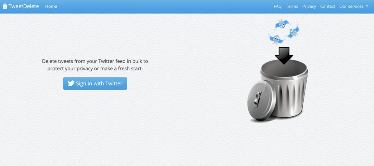 خدمة مجانية راح تفيدك لو احتجت تحذف جميع تغريداتك في تويتر أو بعضها