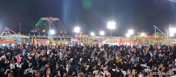 أفتتاح مهرجان الدرب للتسويق والترفيه 39 بحضور المنشد خالد حامد