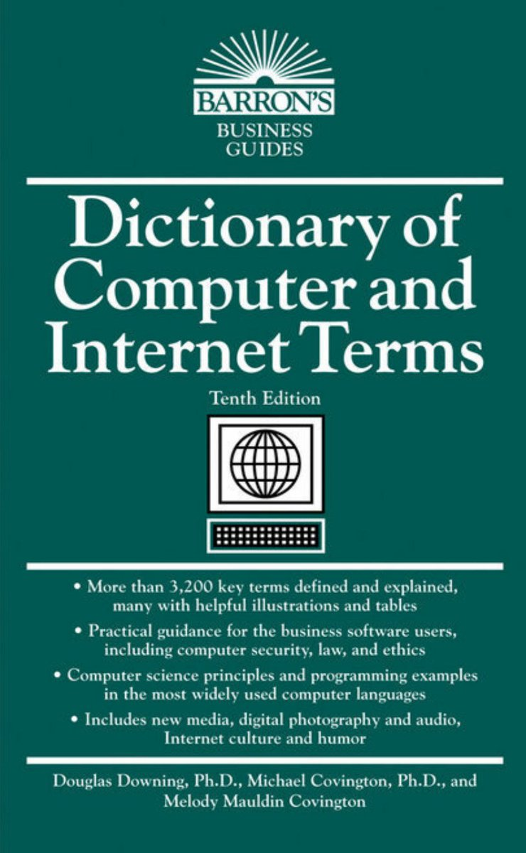 كتاب متميز يعتبر معجم شامل للمصطلحات التقنية