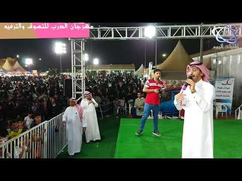 مهرجان الدرب السياحي - المنشد خالد حامد نجم بداية khalid ham..